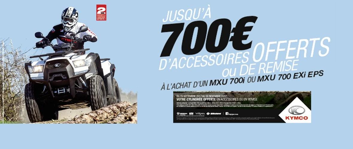 OFFRE KYMCO MXU 700