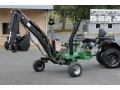 Mini-pelle autonome pour quad GEO - ATV Backhoe